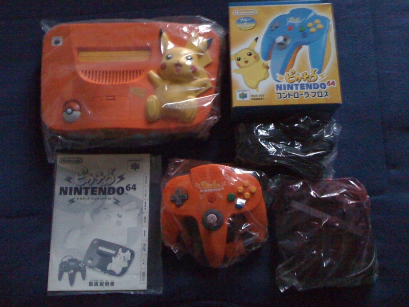 les nintendo 64 limited du forum 01412
