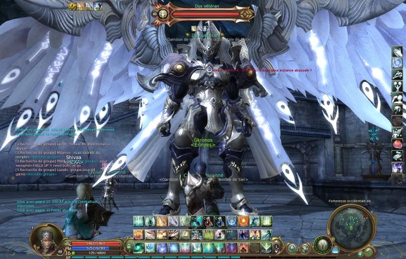 La defense de forteresse Aion0010