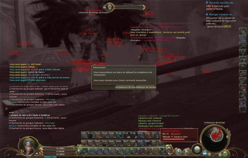 l'attaque de forteresse Aion0012
