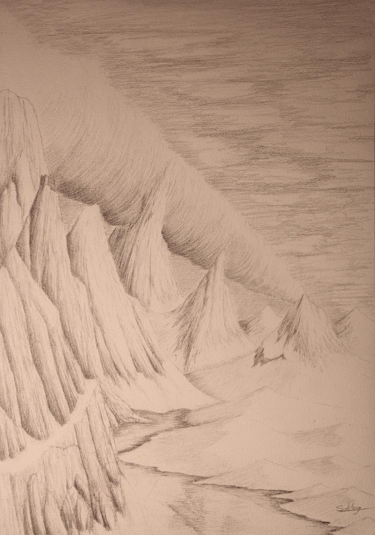 """Montagnes et """"roll-cloud"""" Montag10"""