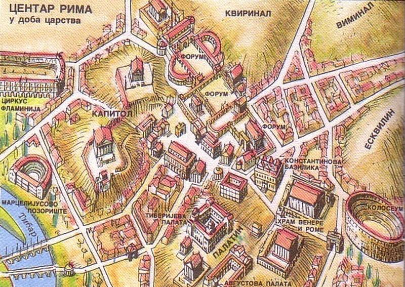 Centar Rima u doba carstva Centar10