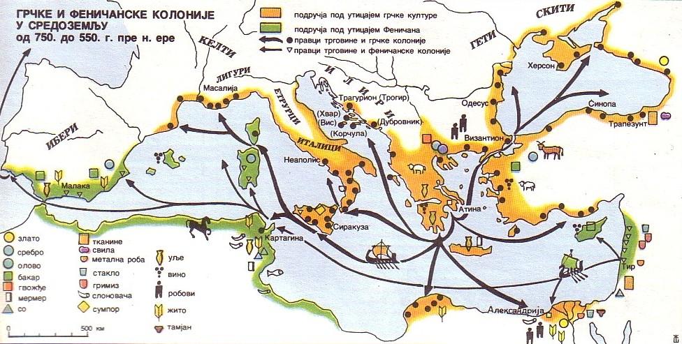 Grčke i Feničanske kolonije od 750-550 p.n.e. Grake_10