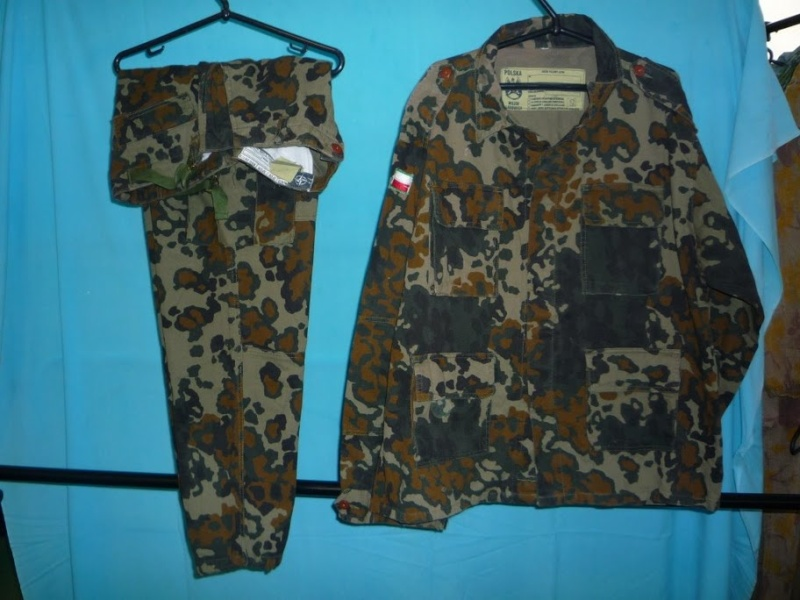 "Polish paratrooper uniforms ""US"" P1090810"