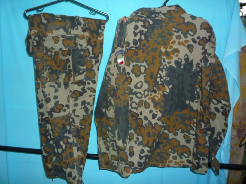"Polish paratrooper uniforms ""US"" P1090812"