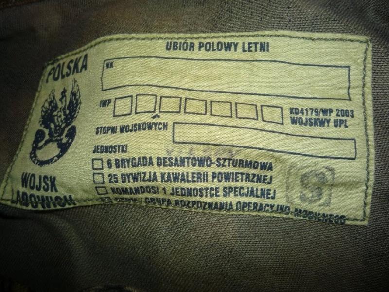 "Polish paratrooper uniforms ""US"" P1090816"