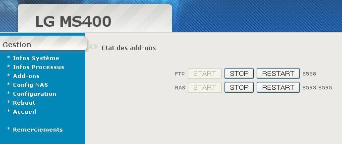 Interfaz de administración WEB automática: Actualización del 11.02.2010 V0_2_110