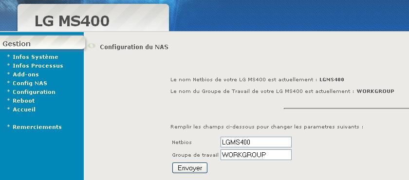 Interfaz de administración WEB automática: Actualización del 11.02.2010 V0_2_210