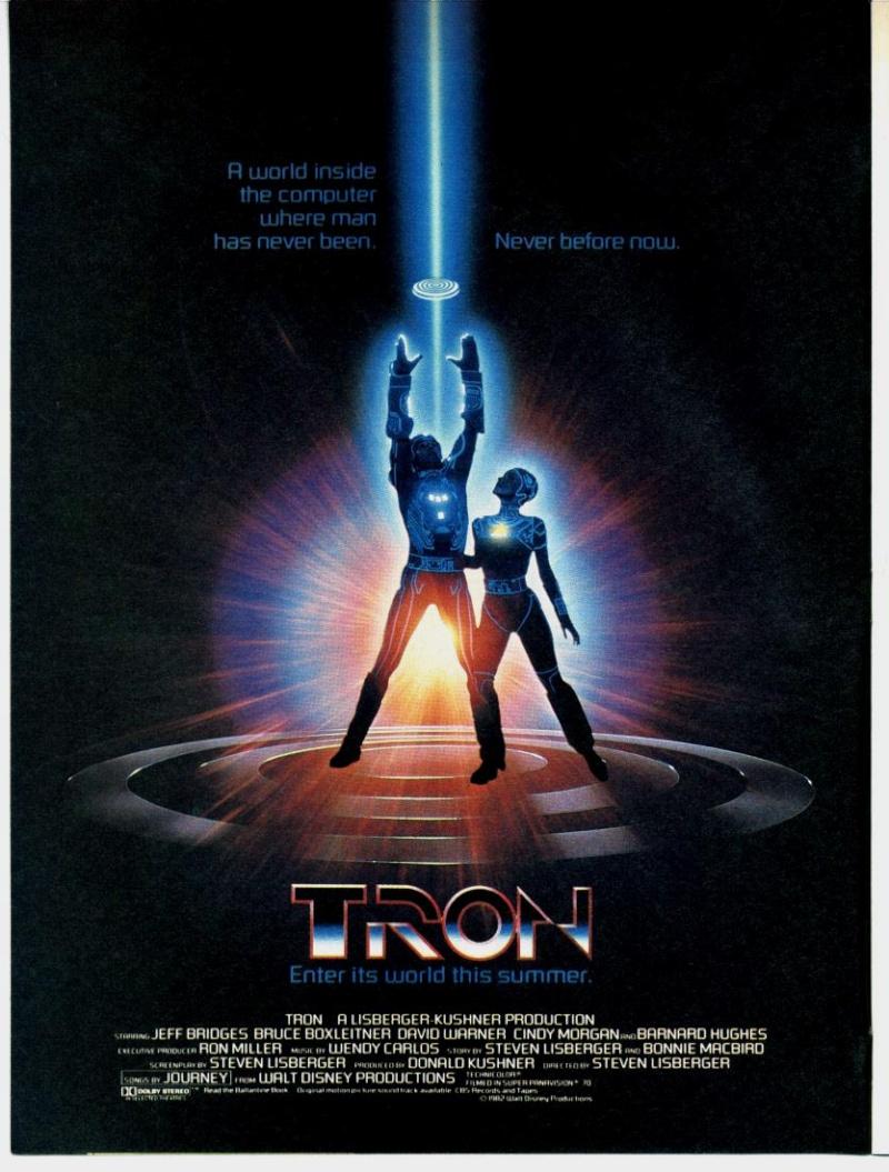 Top des affiches de cinéma - Page 3 Tron10