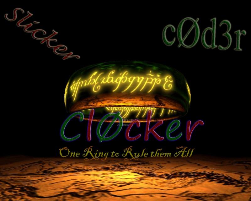 Congratulations  Coder and Slicker Clocke10