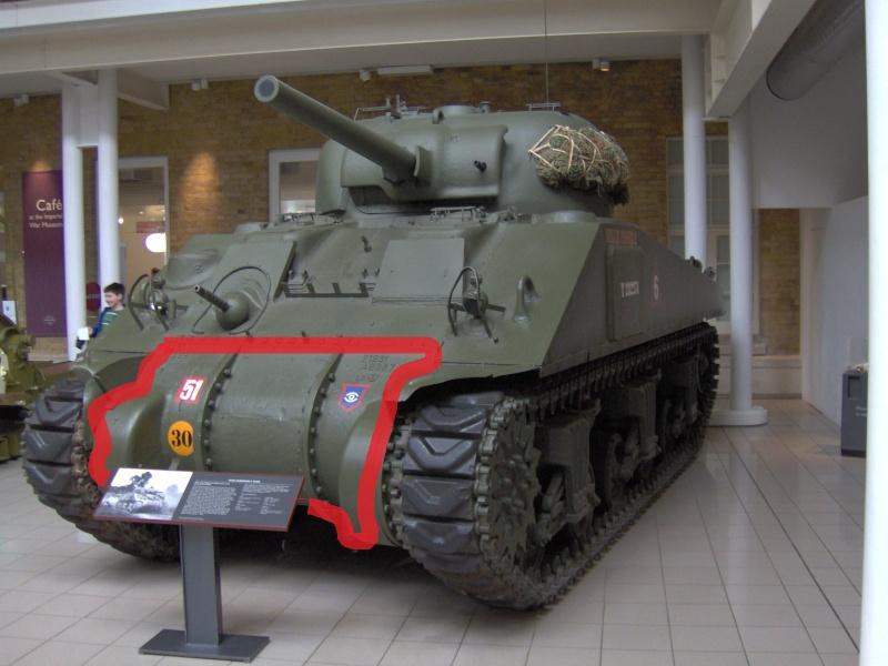 M4 A3 Sherman + lance rocket t-34 calliope-REVELL Sherma12