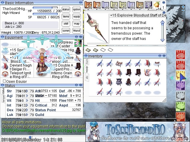 The Private Server What Im Playing~ xD ( Dam Exaggeration) Screen26