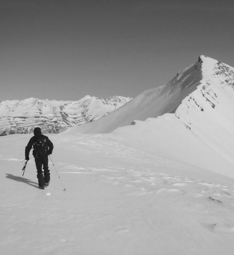 Mont Mounier par le Col d'Espaul 1010