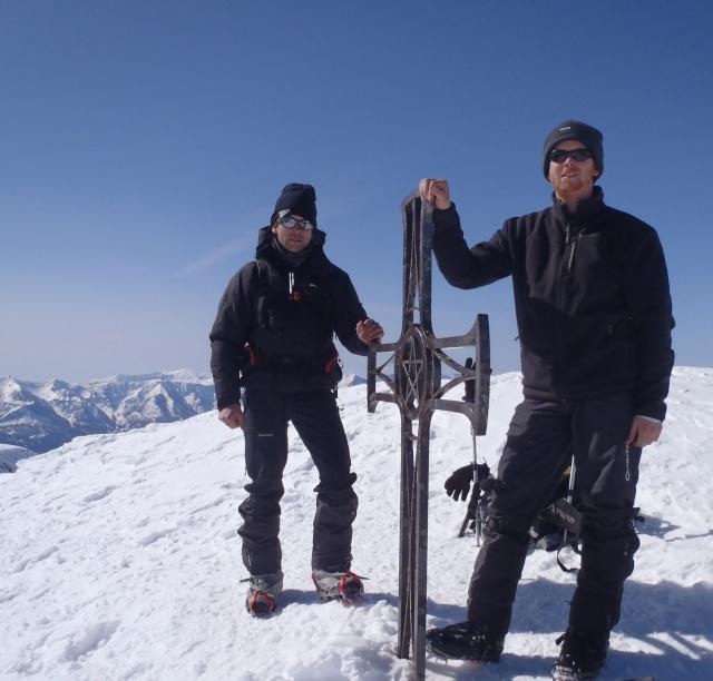 Mont Mounier par le Col d'Espaul 1310