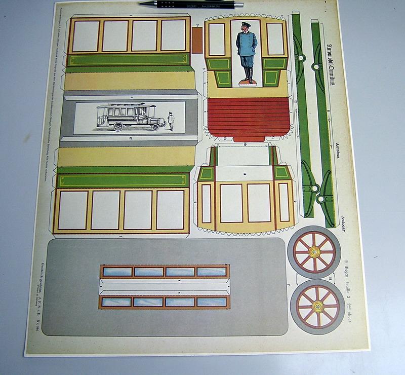 Schreiber - Reprint des Landesmuseum Stuttgart - Omnibus Bus_bl11
