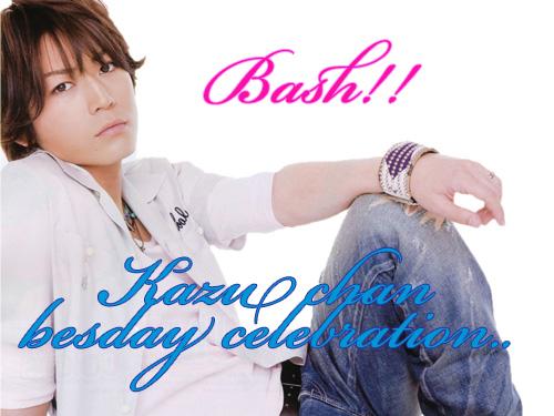Kazu chan besday celebration Akk10