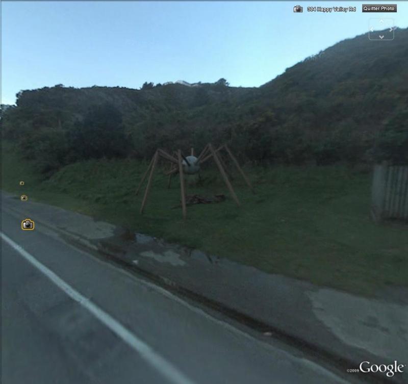 STREET VIEW : Araignée Happy valley NZ Ara10