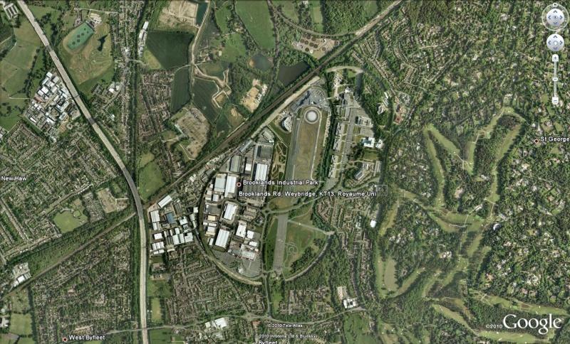 Circuit Brooklands à Weybridge - UK - Royaume-Uni Brook110