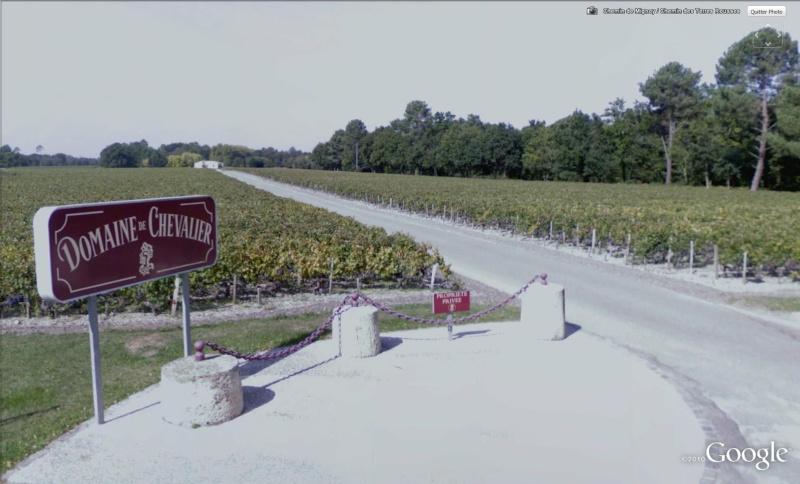 STREET VIEW : Les vignobles Cheval10