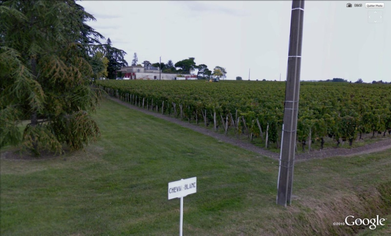 STREET VIEW : Les vignobles Cheval11