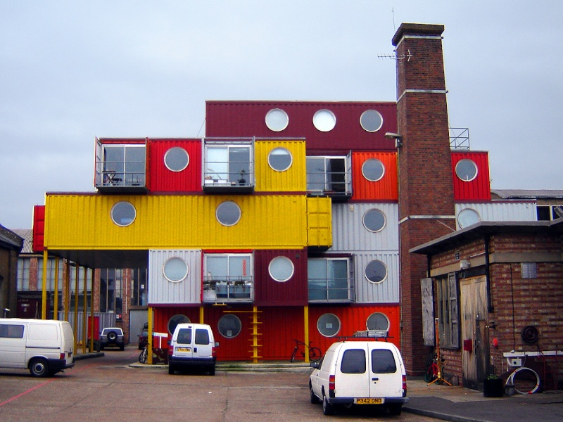 Containers city, Londres - Angleterre Conte211