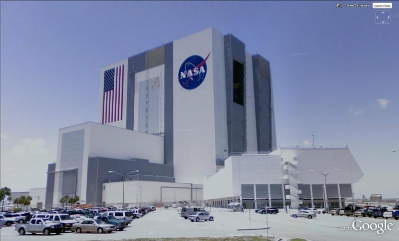 STREET VIEW: Nasa Cap Canaveral, Floride, USA Nasa210