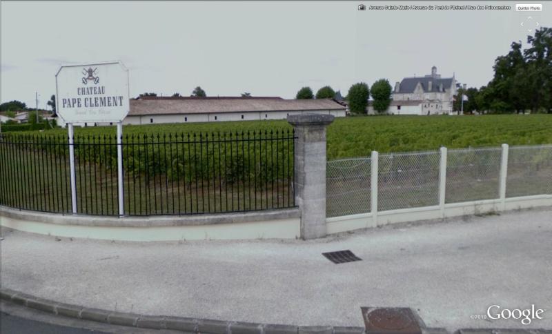 STREET VIEW : Les vignobles Pape10