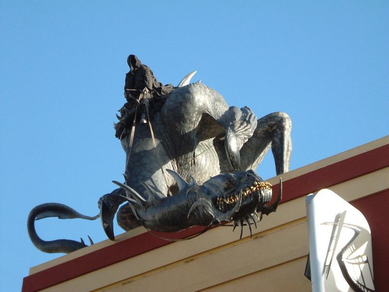 Gollum à Wellington - Nouvelle Zélande. Sa310