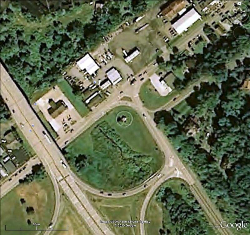 Théière géante à Chester, West Virginia - USA Thaiar12