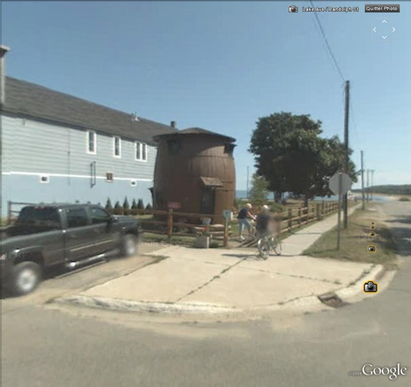 Maison baril, Grand Marais, Michigan - USA Tonnea10