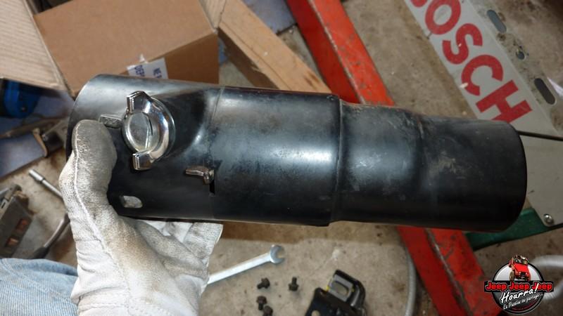 Maïté au volant: Dépose colonne dir. CJ7 boite manuelle P1030423