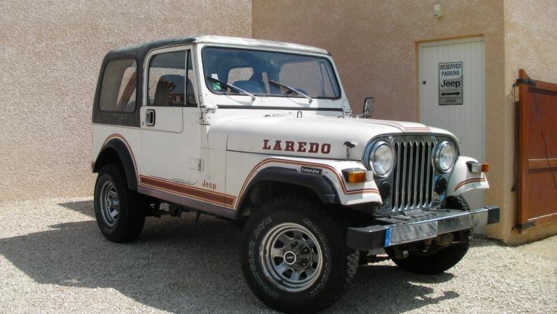 """[1982 CJ7 LAREDO] et voici ... """"El Blanco"""" Sany0310"""