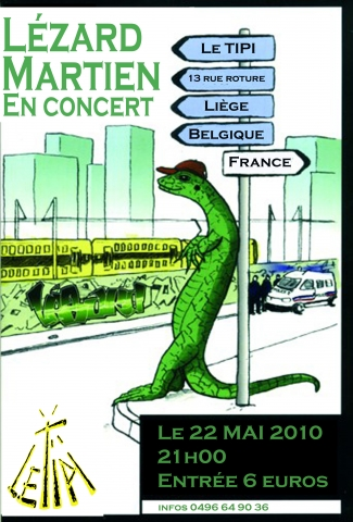 Lézar Martien groupe Internationnal !!! 22 Mai 2010 Semain10