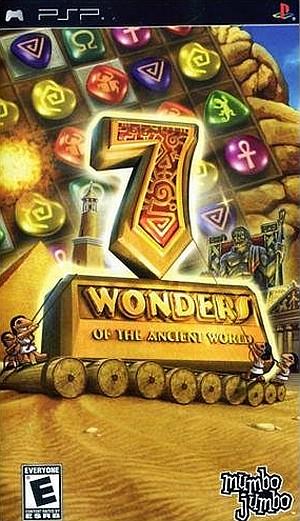 Фасад обложки и скриншот игры PSP ( 0-999). 7wonde10