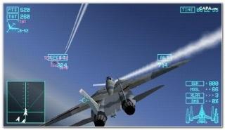 Фасад обложки и скриншот игры PSP (А). Ace_co11