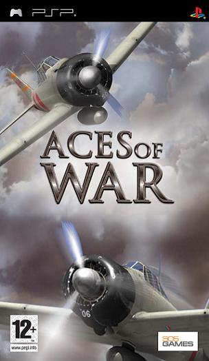 Фасад обложки и скриншот игры PSP (А). Aces_o10
