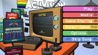 Фасад обложки и скриншот игры PSP (А). Activi11