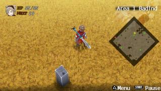 Фасад обложки и скриншот игры PSP (А). Advent10