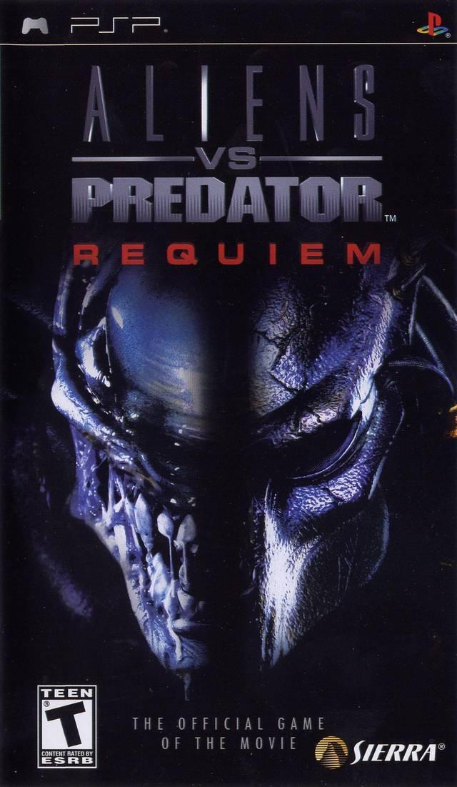 Фасад обложки и скриншот игры PSP (А). Aliens10