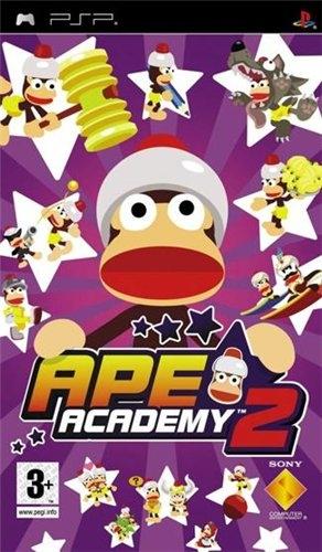 Фасад обложки и скриншот игры PSP (А). Ape_ac10
