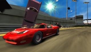 Фасад обложки и скриншот игры PSP (B). Burnou12