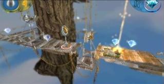 Фасад обложки и скриншот игры PSP (F). Fading11