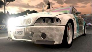 Фасад обложки и скриншот игры PSP (J). Juiced11