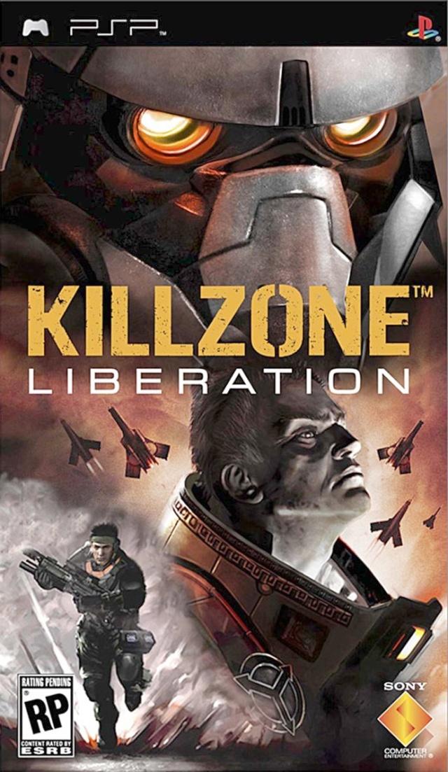 Фасад обложки и скриншот игры PSP (K). Killzo10
