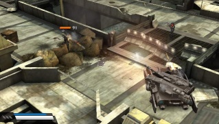 Фасад обложки и скриншот игры PSP (K). Killzo11