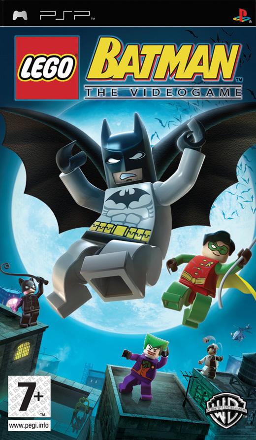Фасад обложки и скриншот игры PSP (L). Lego_b10