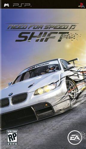 Фасад обложки и скриншот игры PSP (N). Nfs_sh10