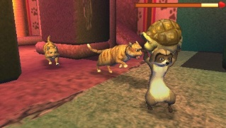 Фасад обложки и скриншот игры PSP (O). Over_t11