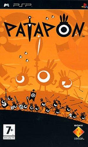 Фасад обложки и скриншот игры PSP (P). Patapo10