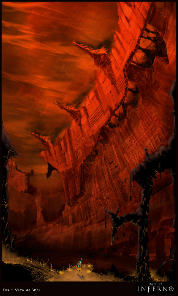 Dante's Inferno. Скриншоты, обои к игре, арт. Poster11