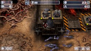 Фасад обложки и скриншот игры PSP (S). Savage10